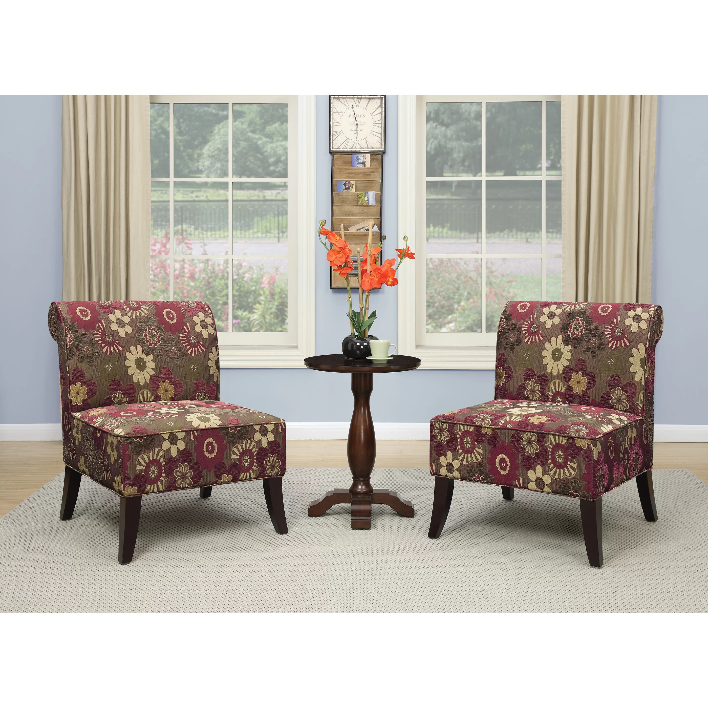3 piece table and chair set office covers bed bath beyond ave six accent wayfair