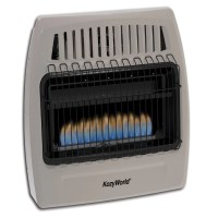 KozyWorld 30,000 BTU Wall Mounted Natural Gas Heater ...