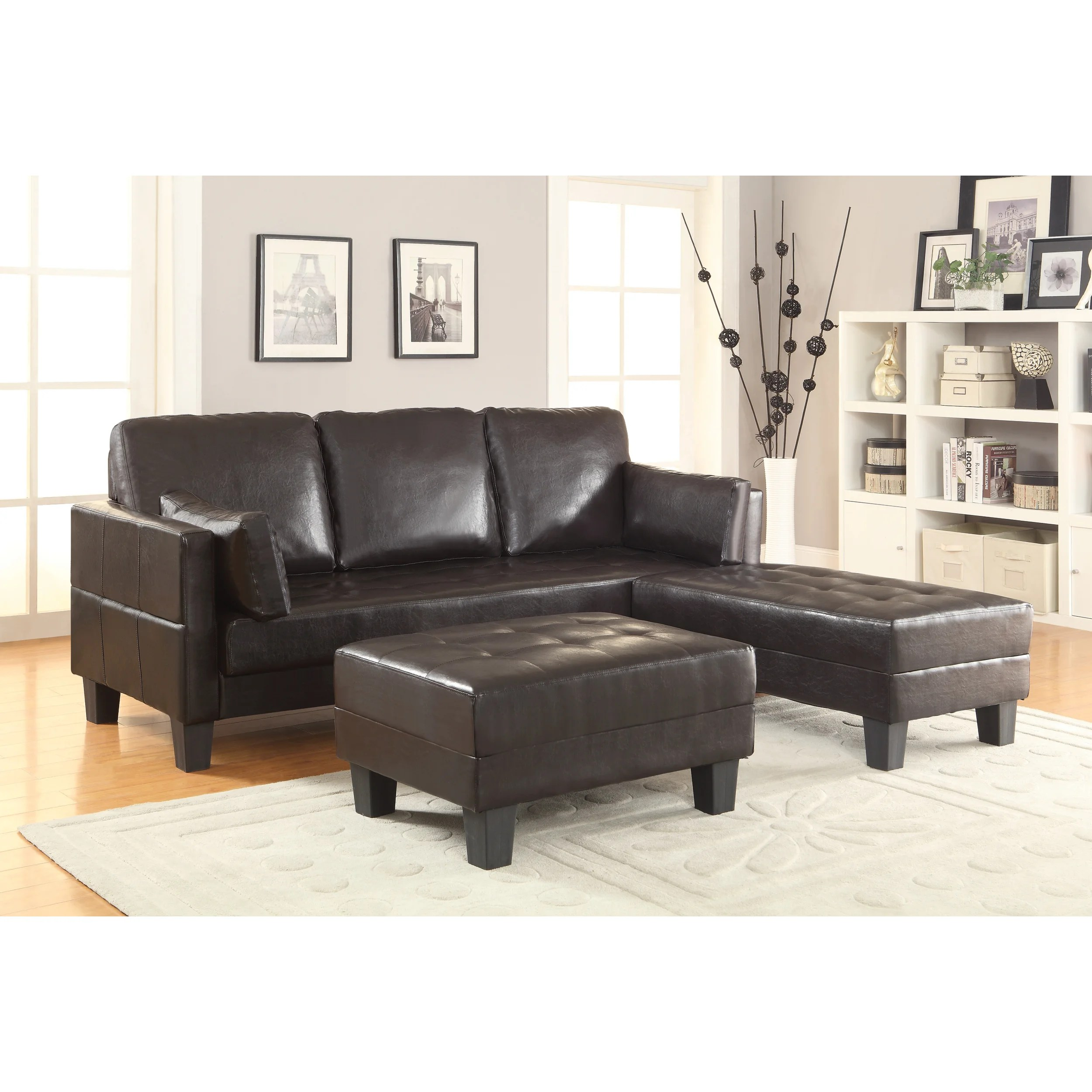 cape town sofa reviews durable leather bed wildon home  sleeper and 2 ottomans wayfair