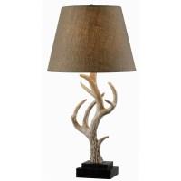 "Wildon Home  Buckhorn 28.75"" Table Lamp & Reviews   Wayfair"