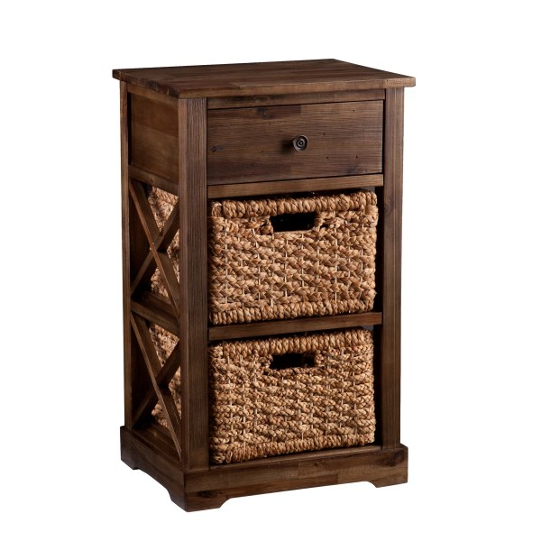 Wildon Home Bourke 2-basket Storage Shelf &