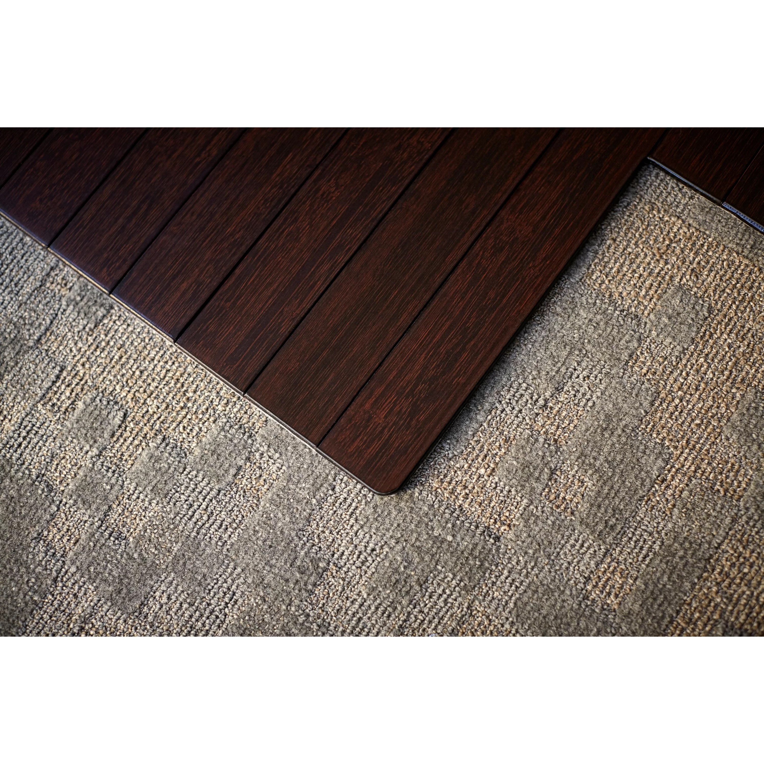 office max hardwood floor chair mat wedding covers cheap wildon home ® low pile and bamboo & reviews   wayfair
