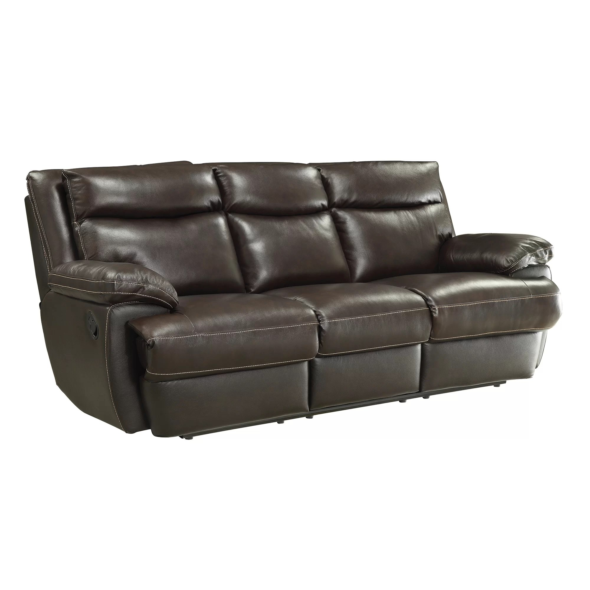 motion sofas leather slate sofa table big lots wildon home  macpherson reclining