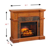 Wildon Home  Cairns Corner Electric Fireplace | Wayfair