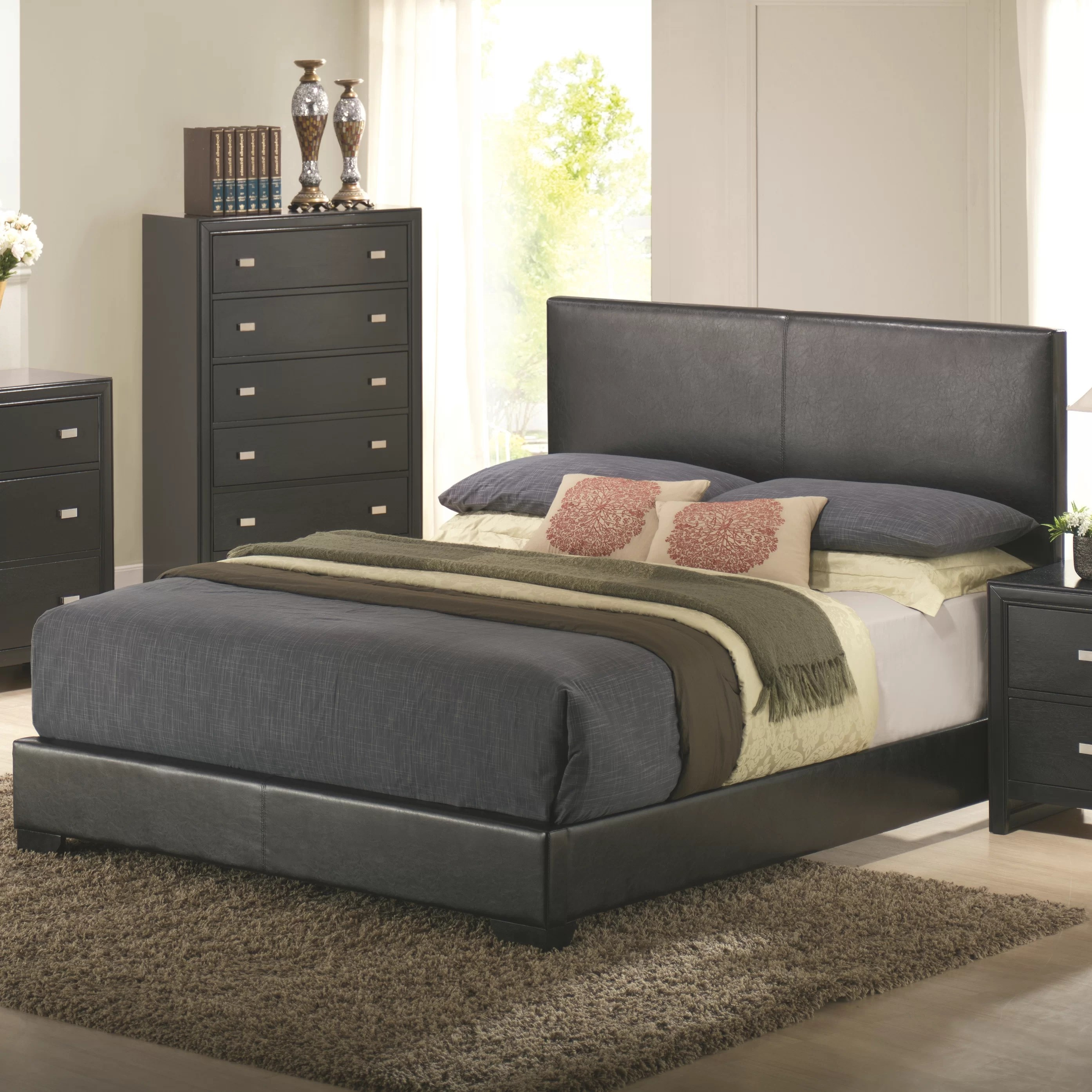 bedroom chair wayfair folding price in india wildon home  kaspa queen platform customizable