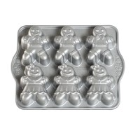 Nordic Ware Gingerbread Kids Cakelet Pan & Reviews