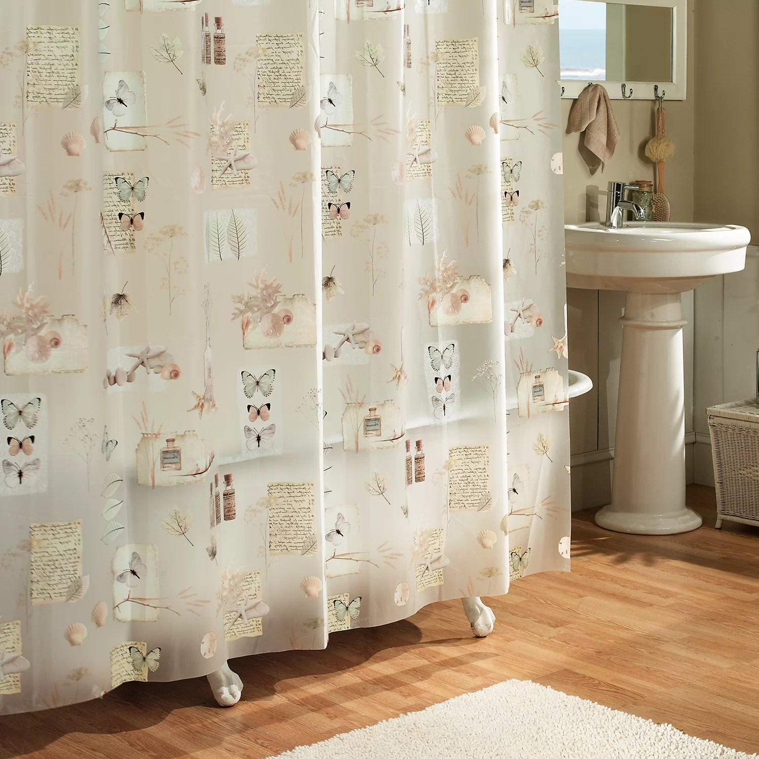 ExCell Kaiser Natures Moments 100 PEVA Shower Curtain