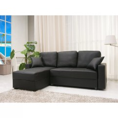 Aspen Convertible Sectional Storage Sofa Bed Leather With Ottoman Sam S Club Gold Sparrow Modular And Reviews Wayfair