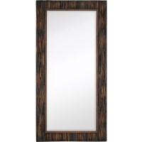 Majestic Mirror Large-scale Rectangular Natural Wood ...