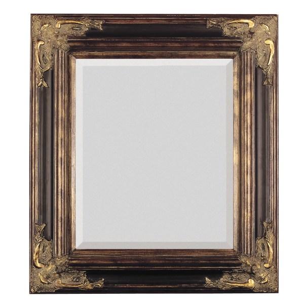 Antique Gold Framed Wall Mirror
