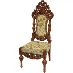 Victorian Parlor Chairs Crazy Creek Original Chair Reviews Oriental Furniture Queen Victoria Fabric Side