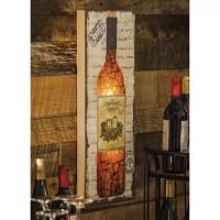 Evergreen Enterprises, Inc Wine Bottle Wall Dcor ...