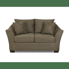 Klaussner Sofa And Loveseat Set Contemporary Grey Sectional Furniture Bunker Reviews Wayfair