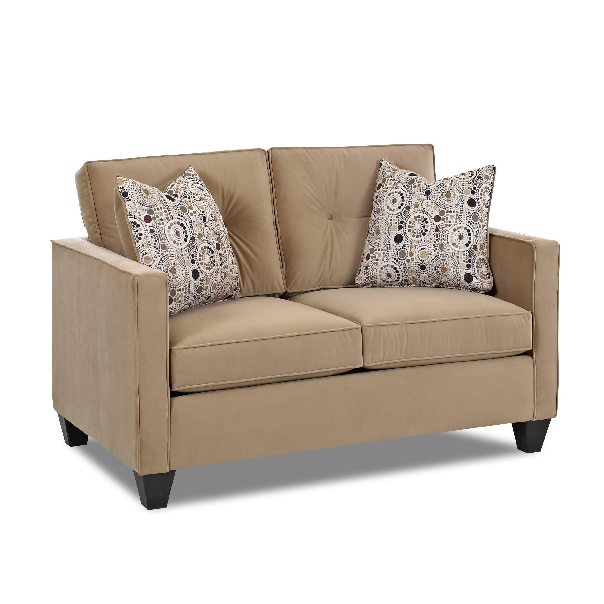 klaussner sofa and loveseat set power recliner not working furniture derry reviews wayfair