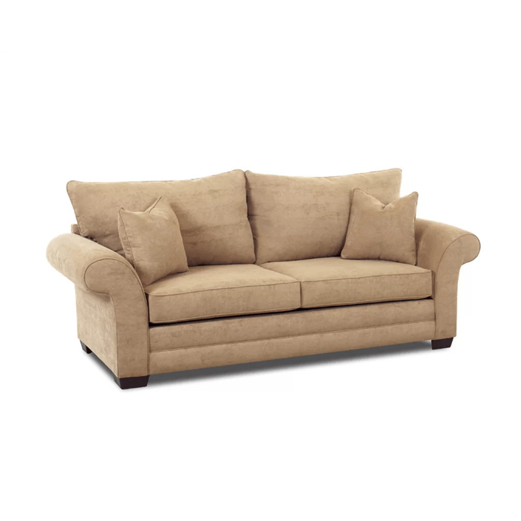 klaussner sofa and loveseat set blue jean denim furniture bart sleeper reviews wayfair