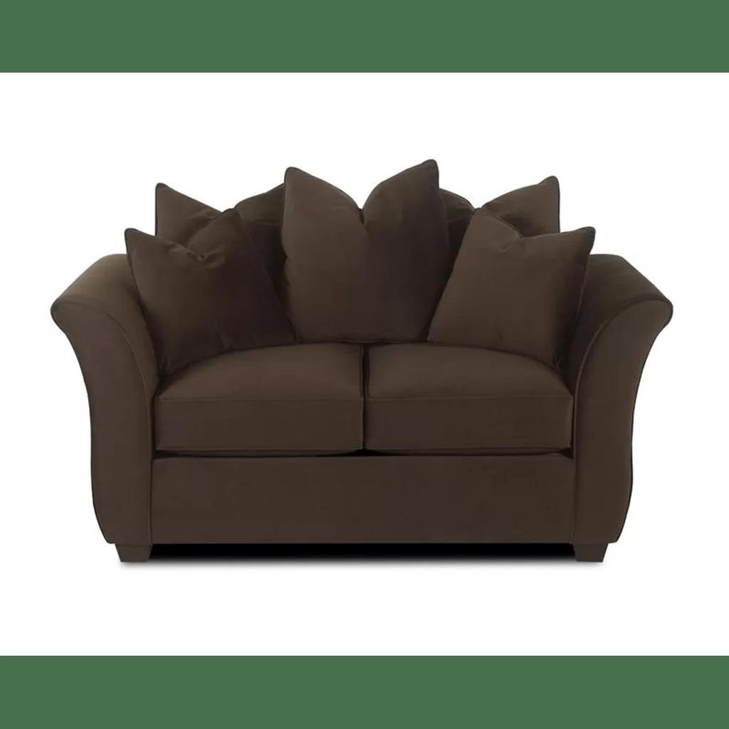 klaussner sofa and loveseat set microfiber sectional ashley furniture cedar reviews wayfair