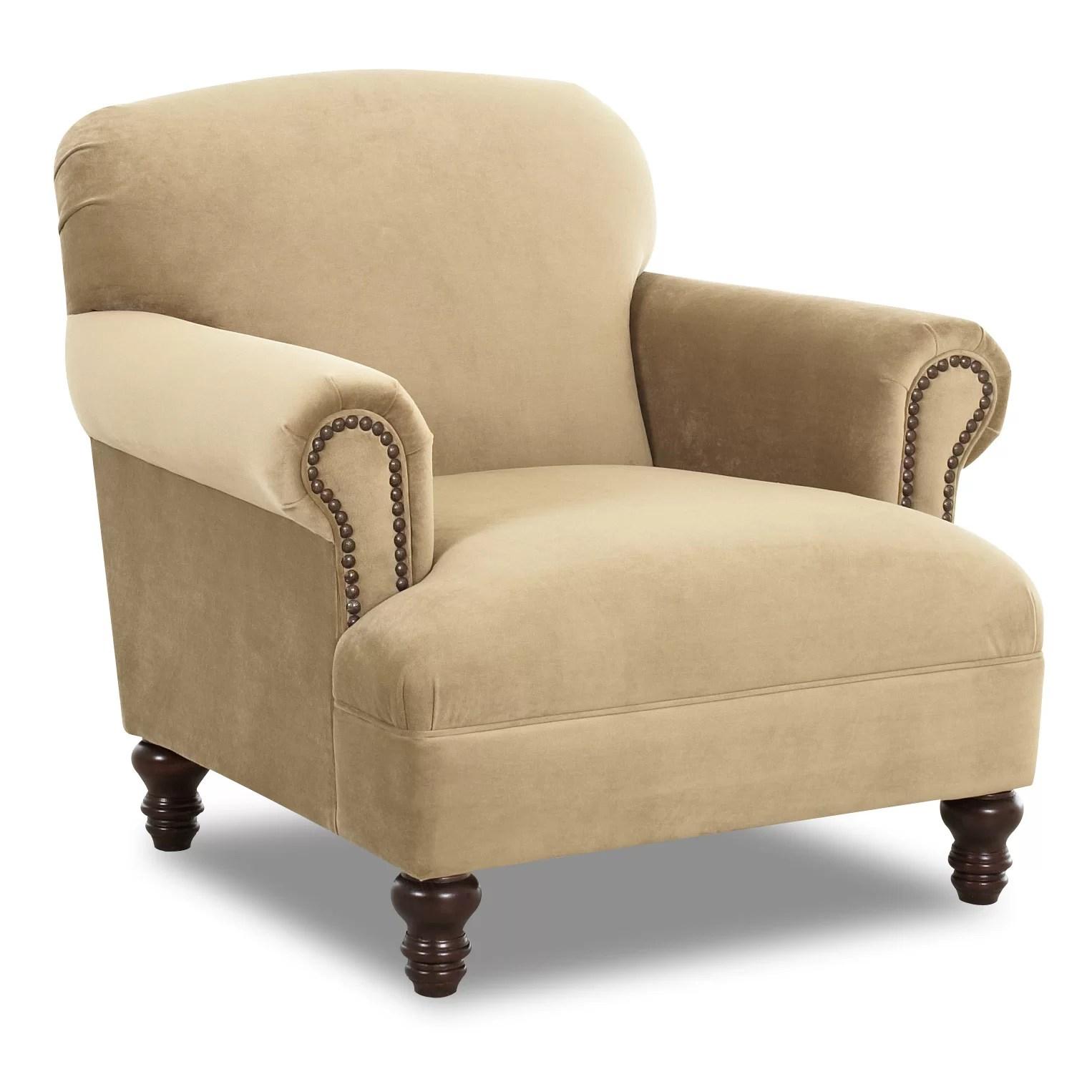 Klaussner Furniture Bailey Chair  Reviews  Wayfair