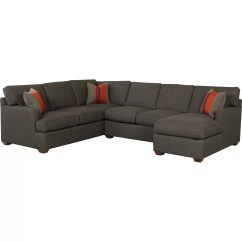 Klaussner Loomis Sectional Sofa Bed Inserts Furniture Rory And Reviews Wayfair