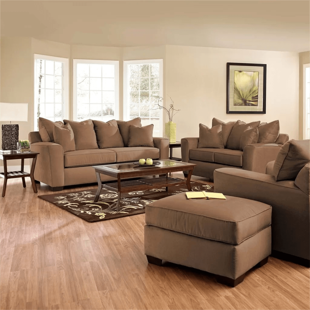 klaussner sofa and loveseat set sm bed furniture liam living room collection reviews