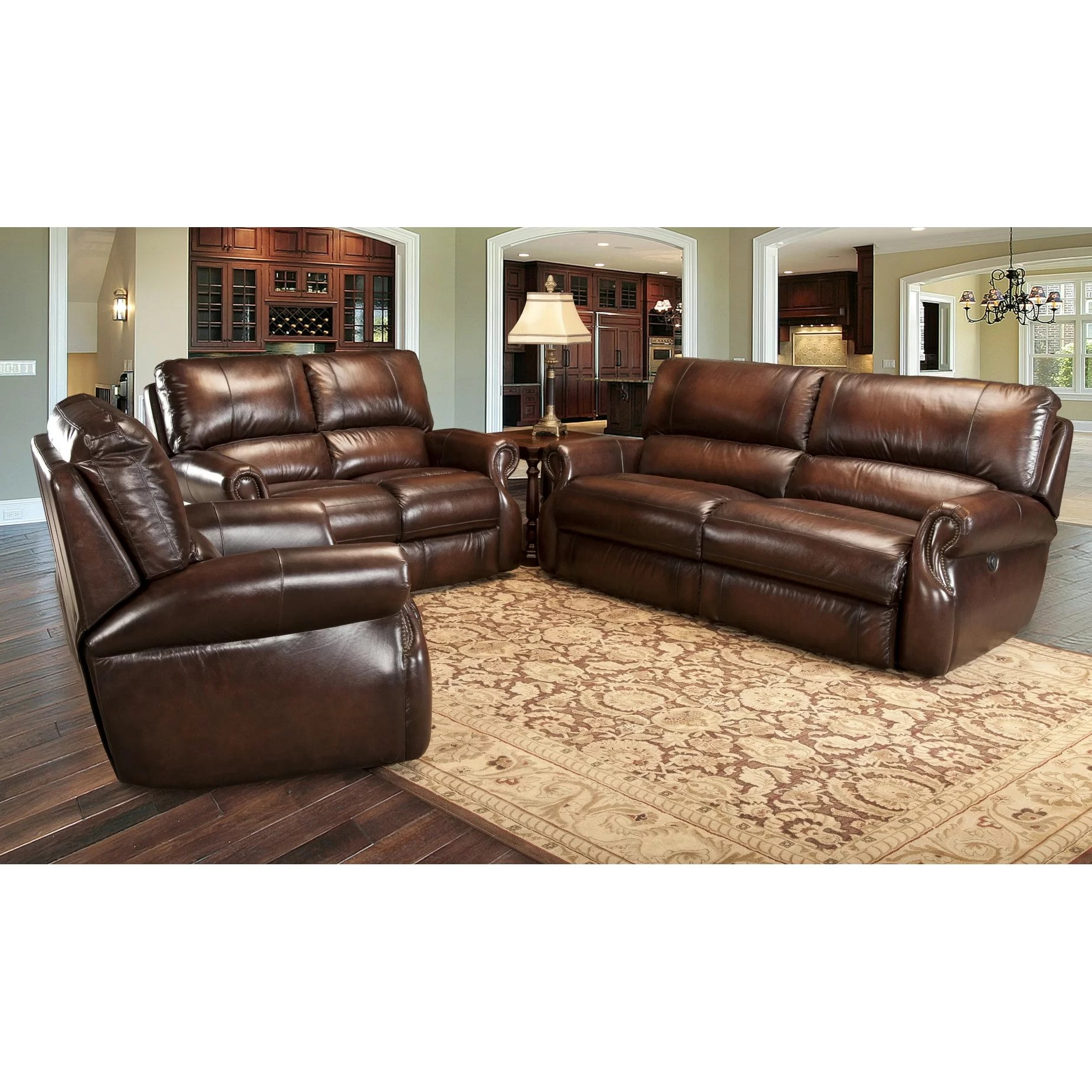 parker leather sofa reviews dfs bed review house hawthorne living room collection