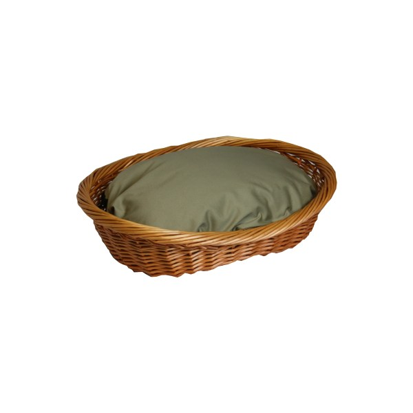 Snoozer Wicker Dog Basket And Bed &