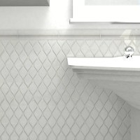 "EliteTile Guadeloupe 2"" x 8"" Ceramic Moldura Trim Wall"