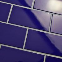 "EliteTile Prospect 3"" X 6"" Ceramic Subway Tile in Royal ..."