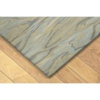 Liora Manne Tivoli Hand-Tufted Blue Area Rug   Wayfair