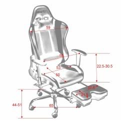 Big And Tall Computer Chair Swivel Near Me Merax Back Ergonomic Racing Style