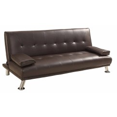Coaster Futon Sofa Bed With Removable Armrests Review L Shaped Leather In Bangalore Merax Convertible And Reviews Wayfair