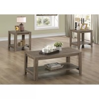 Monarch Specialties Inc. 3 Piece Coffee Table Set ...