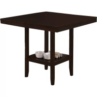 Monarch Specialties Inc. Counter Height Dining Table ...
