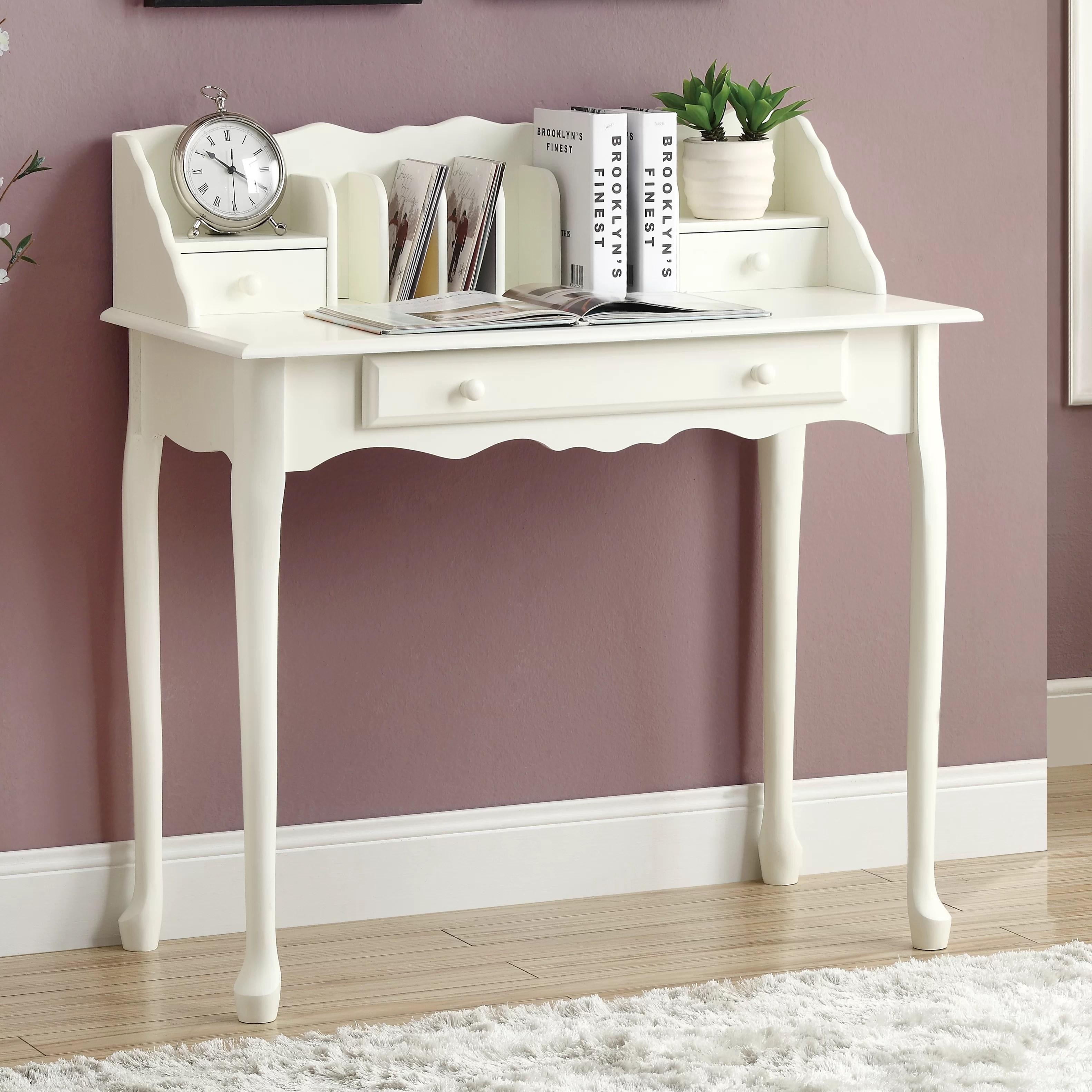 Lark Manor Gagny Secretary Desk  Reviews  Wayfairca