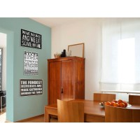 Stupell Industries Kitchen Rules Textual Art Wall Plaque ...