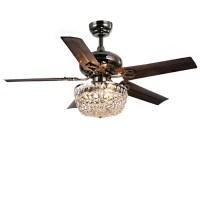 Warehouse of Tiffany 3 Light Bowl Ceiling Fan Light Fitter ...
