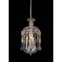 Warehouse of Tiffany Karla 3 Light Crystal Chandelier ...