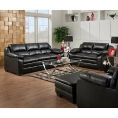 Simmons Bonded Leather Sofa Day Cushion Upholstery Soho And Reviews Wayfair