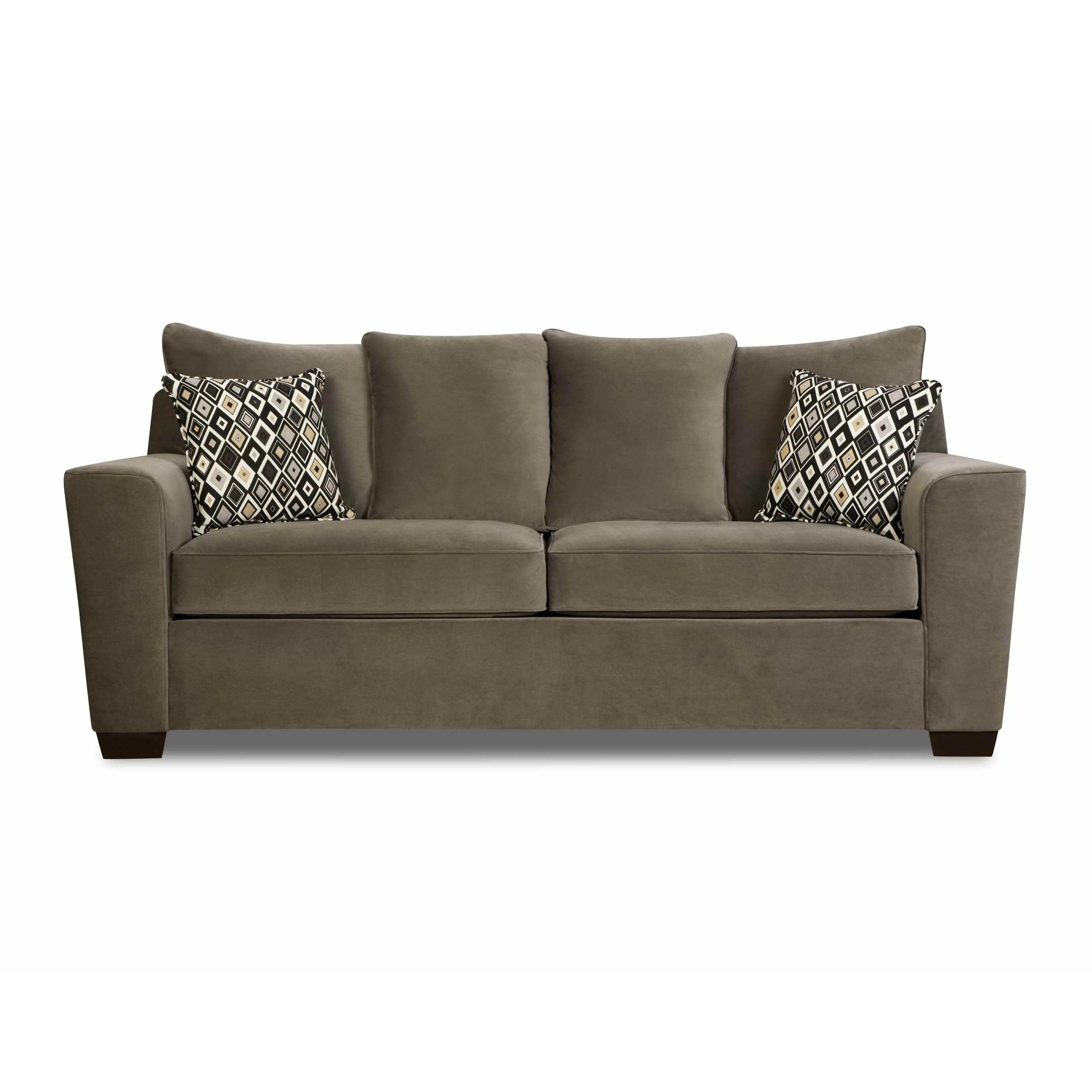 Simmons Upholstery Roxanne Queen Sleeper Sofa  Reviews  Wayfair