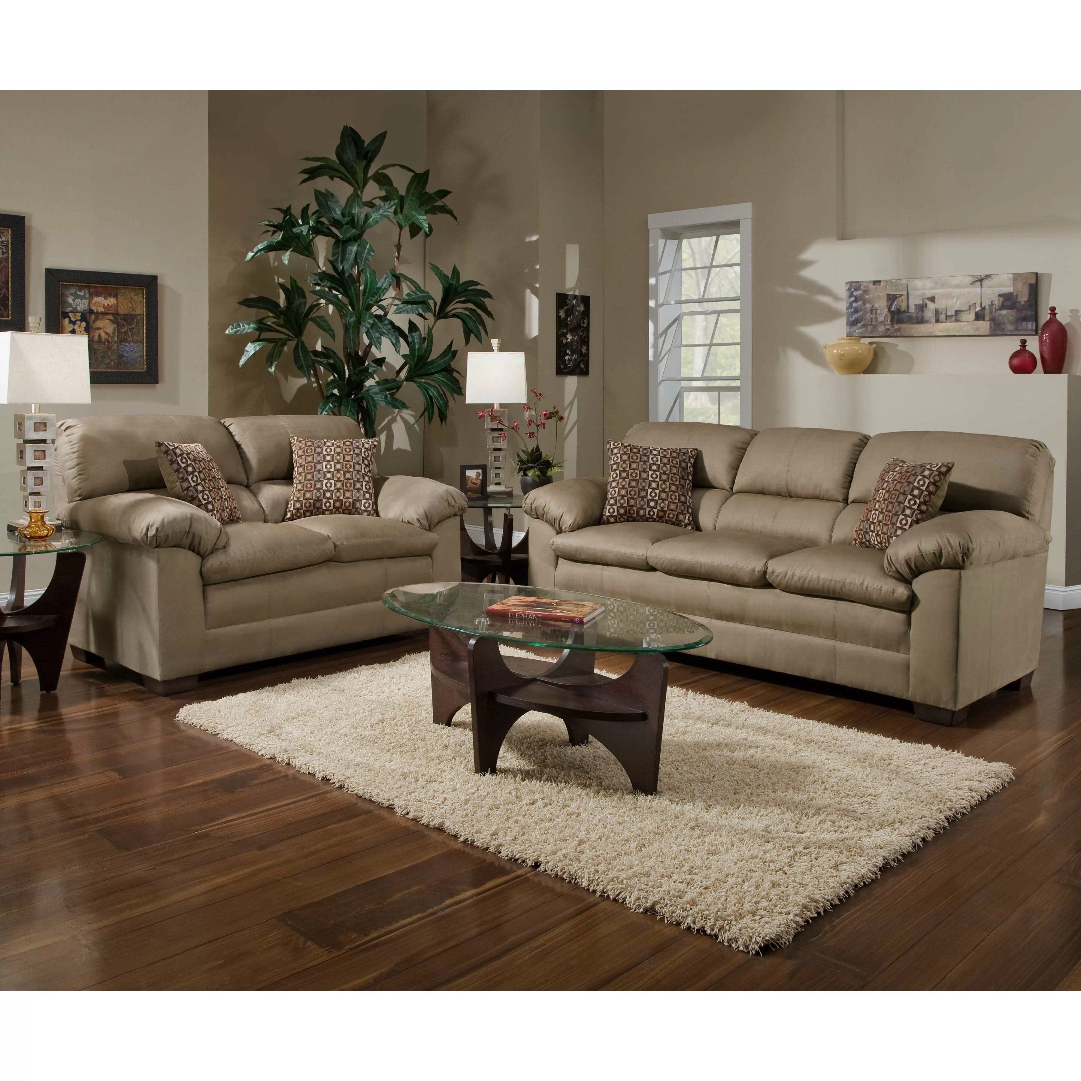 simmons sofa and loveseat best recliner sets upholstery velocity reviews wayfair