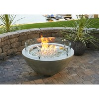 The Outdoor GreatRoom Company Cove Propane Fire Pit Table ...