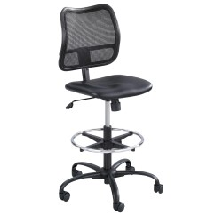 Serie 142 Chair Kiosk Design White Desk Chairs With Wheels Safco Products Vue Series Mesh Extended Height