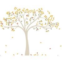 DwellStudio Fall Tree Wall Decal & Reviews | Wayfair