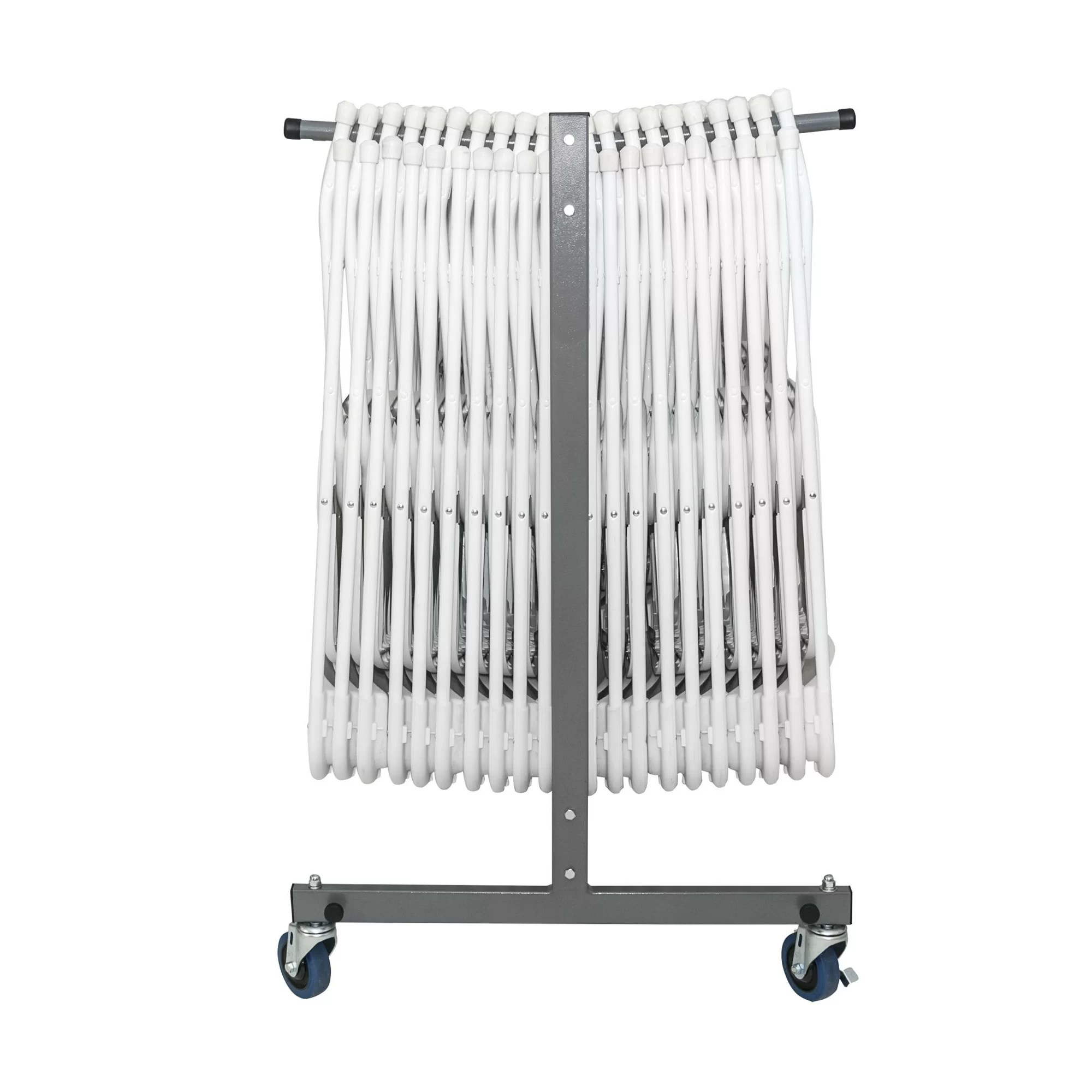 folding chair with wheels special needs bath cosco home and office classic 48 6 quot x 68 9 31 1 gray