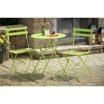Cosco Home And Office 3 Piece Folding Bistro Set &
