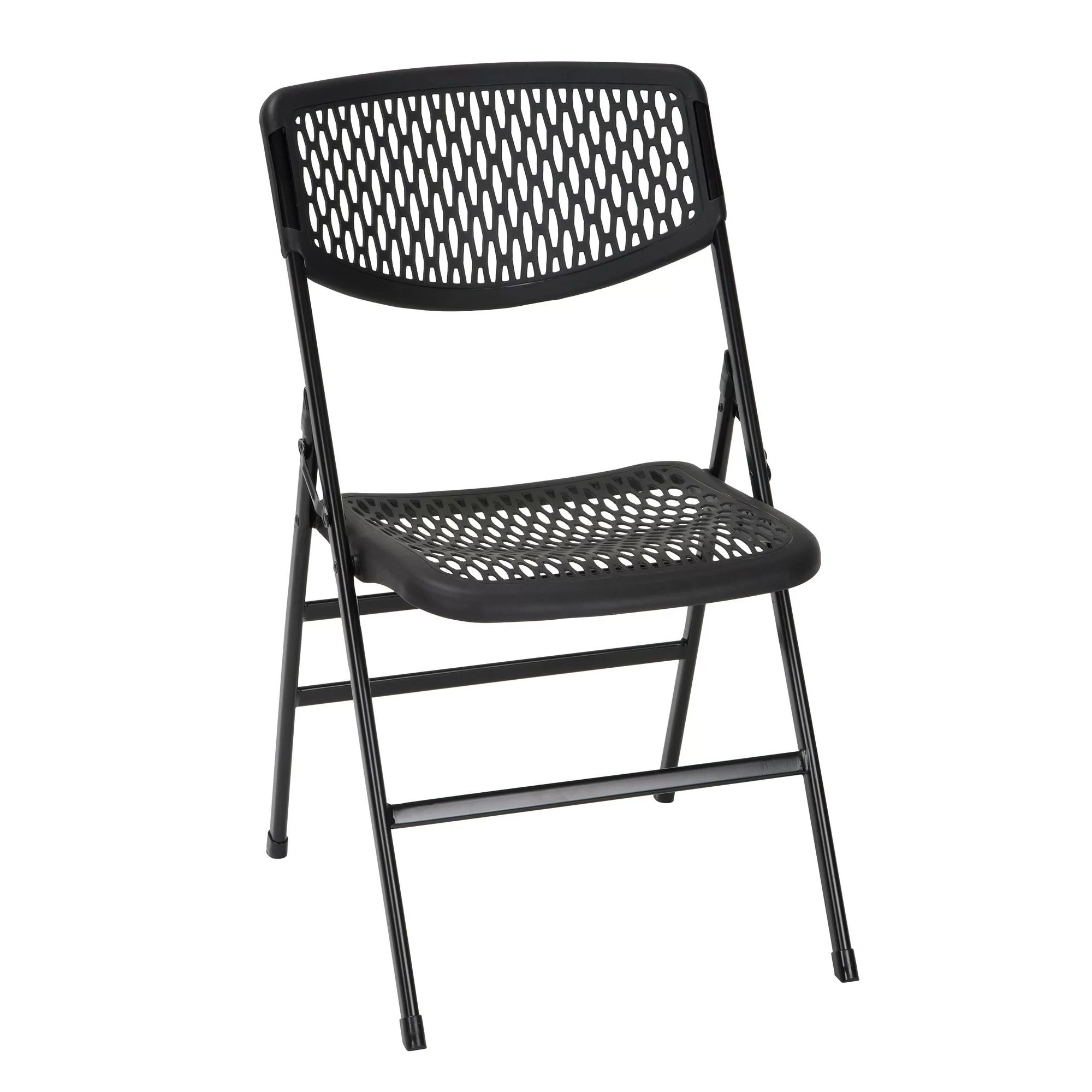 Cosco Home and Office Commercial Resin Mesh Folding Chair