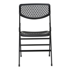 Commercial Folding Chairs Camping With Side Table Cosco Home And Office Resin Mesh Chair
