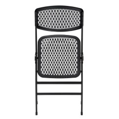 Commercial Folding Chairs Gray Slipper Chair Cosco Home And Office Resin Mesh