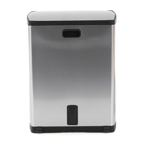Simplehuman 13.2 Gallon Step- Stainless Steel Trash &
