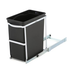 Undercounter Kitchen Trash Can Retro Table And Chairs Set Simplehuman 8 Gallon Under Counter Pull Out