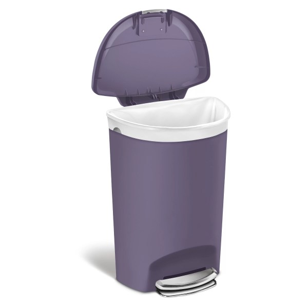 Simplehuman 13 Gallon Step- Trash &